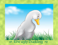 The ugly duckling 7 sadness Royalty Free Stock Images