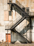 Ugly Fire Escape Royalty Free Stock Images