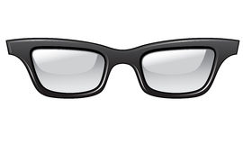 Ugly glasses royalty free stock photography