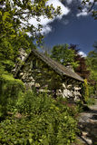 The Ugly House. Built in one night in the 15th century Capel Curig Royalty Free Stock Image