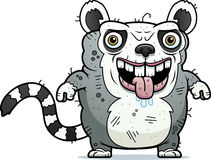 Ugly Lemur Standing Royalty Free Stock Image
