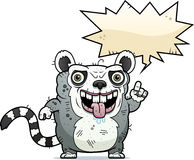 Ugly Lemur Talking Royalty Free Stock Photos