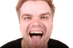 Ugly man Stock Photography