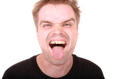 Ugly man Royalty Free Stock Photo