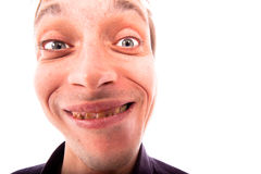 Ugly man face Royalty Free Stock Photography