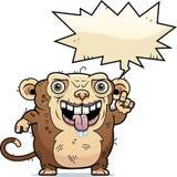 Ugly Monkey Talking Stock Image