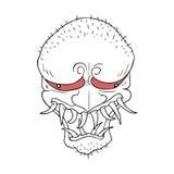 Ugly monster illustration Stock Photo