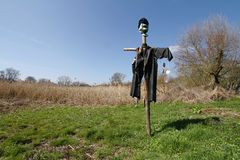 Ugly scarecrow Stock Photography