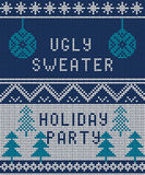 Ugly sweater Background 1 Stock Image