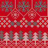 Ugly sweater Background 1 Stock Images