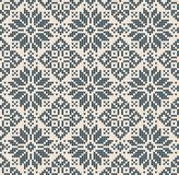Ugly sweater Christmas Season Winter seamless background scandinavian ornaments. Ugly sweater Merry Christmas Season Winter seamless background . Vector vector illustration