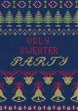 Ugly Sweater Party  Royalty Free Stock Photos
