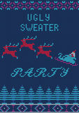 Ugly Sweater Party Royalty Free Stock Photography