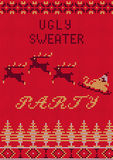 Ugly Sweater Party Royalty Free Stock Image