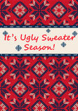 Ugly Sweater Party Stock Image