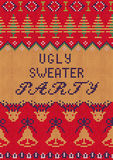 Ugly Sweater Party3 Stock Image