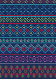 Ugly Sweater Pattern 1 Royalty Free Stock Image