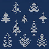 Ugly sweater Pattern 1 Royalty Free Stock Photo
