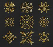 Ugly sweater Pattern royalty free stock photos