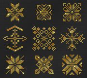 Ugly sweater Pattern stock image