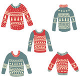 Ugly sweaters Stock Photo