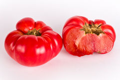 Ugly tomatos Stock Images