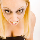 Ugly woman Royalty Free Stock Photography