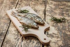Ugn-bakad fisk Fotografering för Bildbyråer