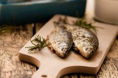 Ugn-bakad fisk Arkivbilder