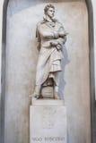 Ugo Foscolo Tomb Basilica of Santa Croce - Florence Royalty Free Stock Photography