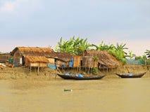 ugoda przy Sundarbans drogami wodnymi, Bangladesz obrazy royalty free