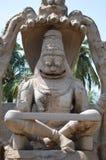Hampi Karnataka, India. Ugra Narasimha Temple, Hampi Karnataka, India royalty free stock images