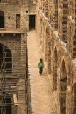Ugrasen Ki Baoli,印度 库存图片