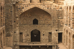 Ugrasen Ki Baoli, India Obrazy Stock