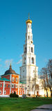 Ugresh bell tower of St. Nicholas Monastery in Russia Stock Photo