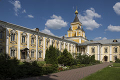 Ugreshsky Monastery of St. Nicholas. Russia, Moscow region Stock Photography