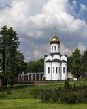 Ugreshsky Monastery of St. Nicholas. Russia, Moscow region Royalty Free Stock Image