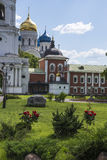 Ugreshsky Monastery of St. Nicholas. Russia, Moscow region Stock Images