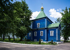 Ugreshsky Monastery of St. Nicholas. Russia, Moscow region Royalty Free Stock Photo
