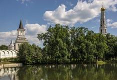 Ugreshsky Monastery of St. Nicholas. Russia, Moscow region Royalty Free Stock Images