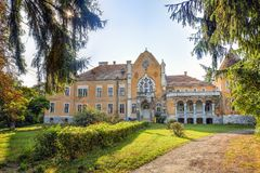 Ugron Castle, Romania Stock Image