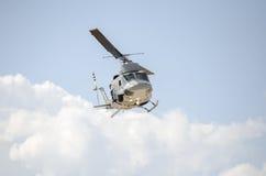 Uh 1 śmigłowcowa drużyna ratownicza Zdjęcia Royalty Free