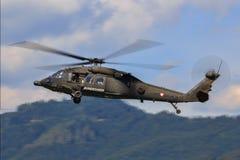 UH-60黑色鹰 免版税库存照片
