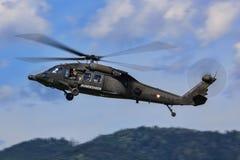 UH-60黑色鹰 图库摄影