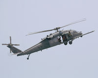 UH 60 Black Hawk Helicopter Stock Photo
