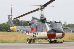 UH-1B Huey荷兰人海军 免版税库存图片