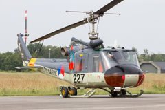 UH-1B Huey Dutch Navy Royalty Free Stock Images