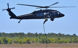 UH-60 Black Hawk Stock Image