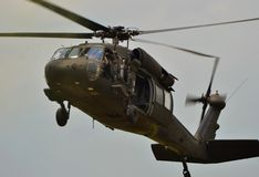 UH-60 Blackhawk Fotografia de Stock