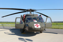 UH-60 Blackhawk helicopter Royalty Free Stock Photography